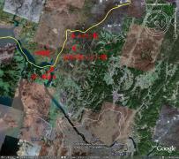 ソウルからの位置関係図