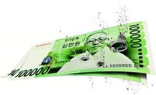 10万ウォン札