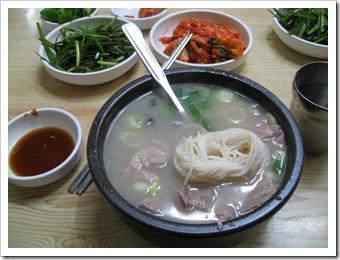 송정3代국밥の되지국밥