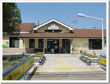 機張駅の駅舎