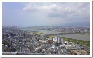 淀川と大阪湾