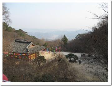石窟庵から見た慶州